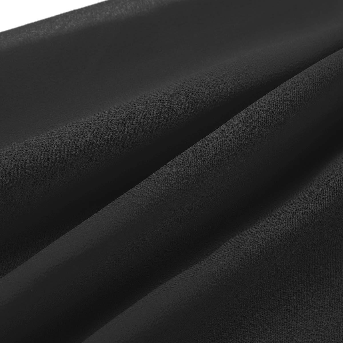 iEFiEL Coprispalle Bolero Donne Elegante Primavera Cardigan Corto Cover Up Copricostume da Donna in Chiffon Cappotto Leggero Giacca Corta Copri Manica Lunga Estate Fresco