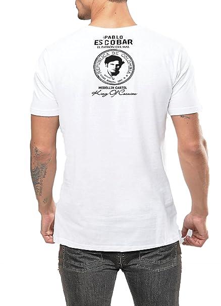 Pablo Escobar T-Shirt Medellin Cartel Plato O Plomo Kingpin ...
