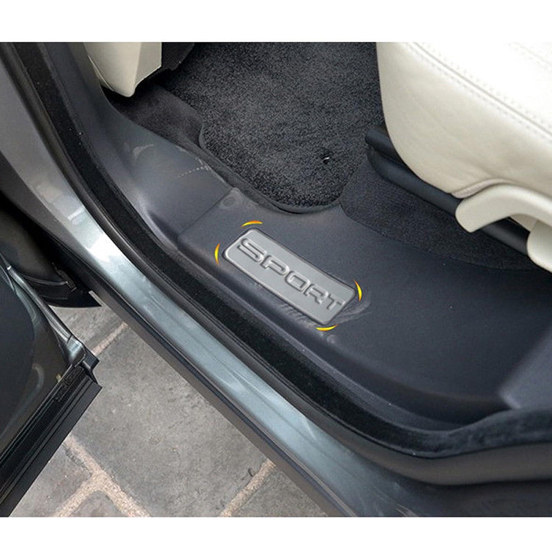 2016 4/X Porte en acier inoxydable plaques de seuil de Land Rover Discovery Sport 2014