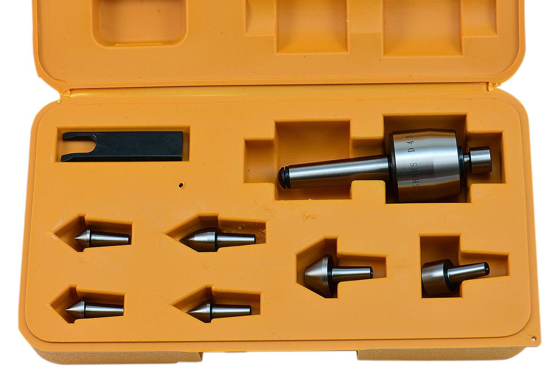 SHARS 2 MT Morse Interchangeable Taper Medium Duty CNC Live Center Set 202-3425 M