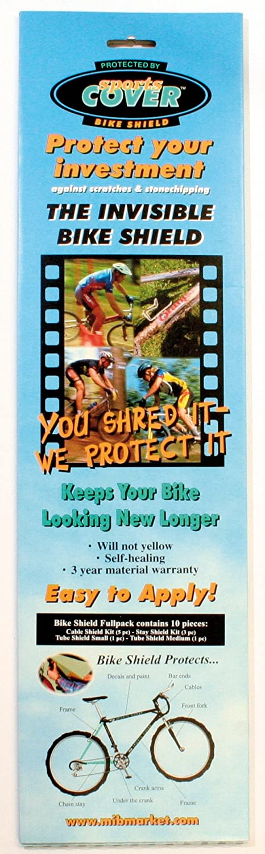 BikeShield Protections Adh/ésives V/élo Bike Shield Full-Pack