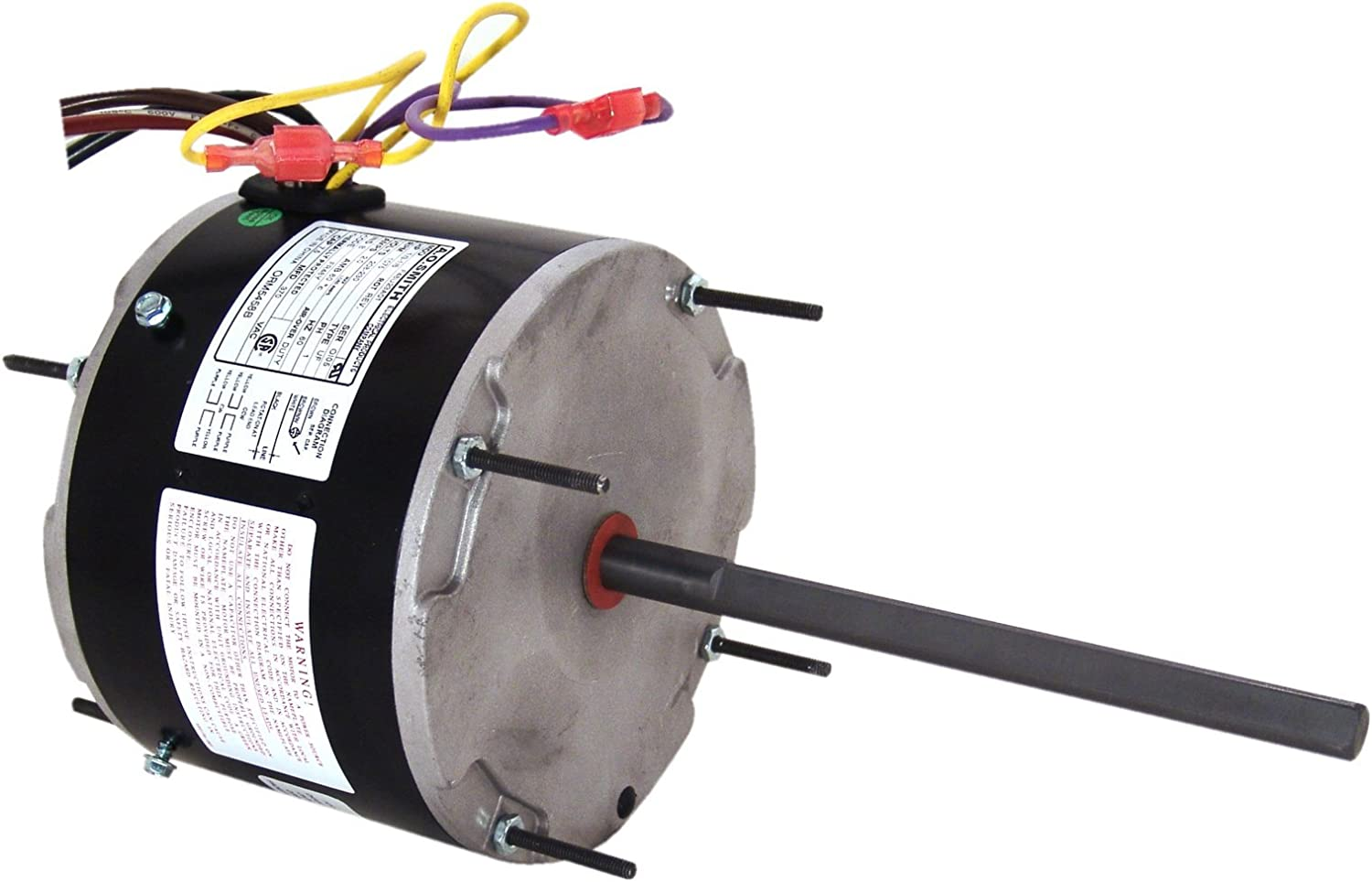 A.O. Smith ORM5458 1/3-1/6 HP, 1075 RPM, 208-230 volts, 2 Amps, 48Y Frame, Sleeve Bearing Condenser Motor (Renewed)