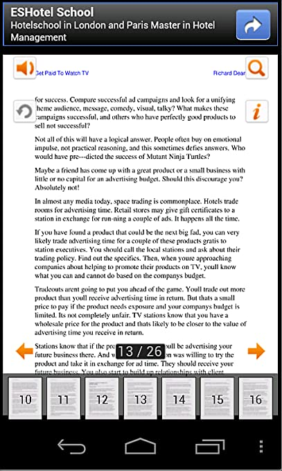 Amazon com: Watching TV - How to Get Paid To Watch TV