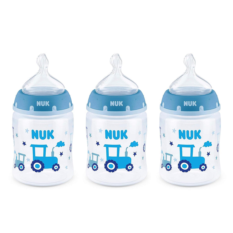 NUK Smooth Flow Anti-Colic Bottle, 5 Oz, 3 Pack