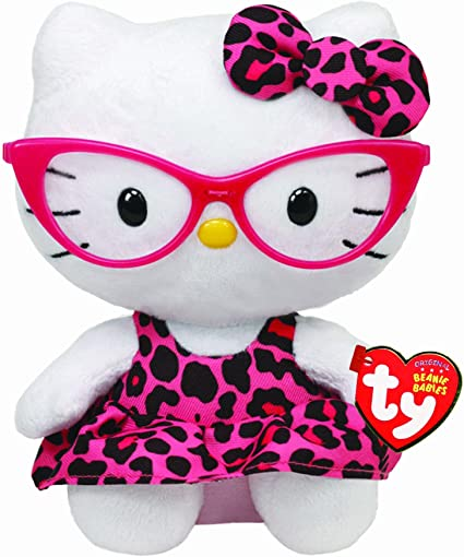 New Ty Beanie Babies Plush Kitty Hello Kitty