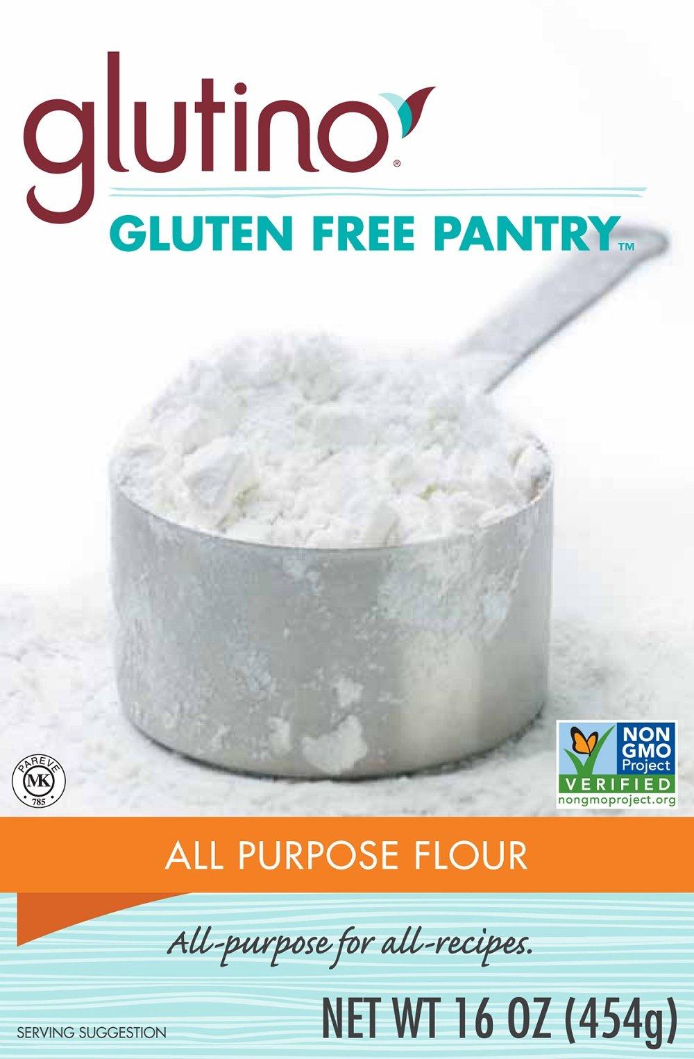 Glutino Gluten Free Pantry All Purpose Flour, 16 Ounce -- 6 per case. by Glutino
