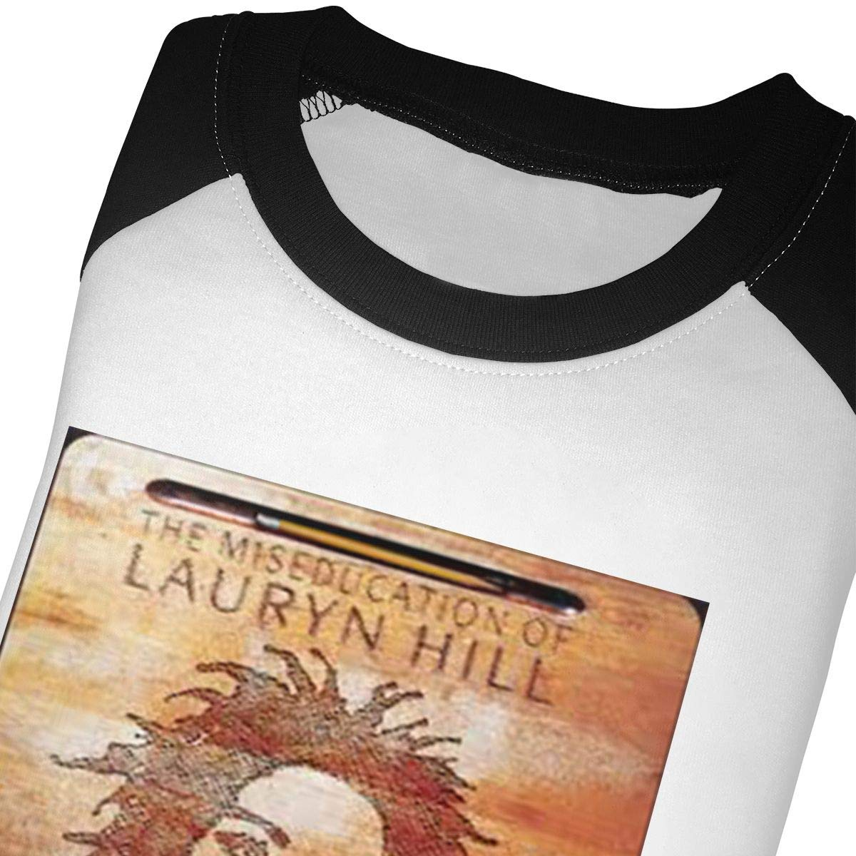 Black6Red The Miseducation of Lauryn Hill Childrens 3//4 Sleeve T-Shirt