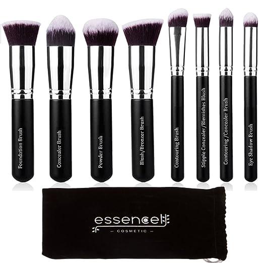 12 opinioni per Essencell Pennelli trucco Premium Synthetic Kabuki spazzola cosmetico di trucco