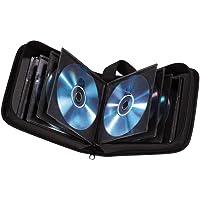 Hama CD wallet for storing 20 CDs/DVDs/Blu-rays, black,00033830