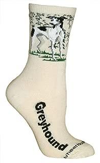 product image for Wheel House Designs Greyhound Argyle Socks (Shoe size 9-12)
