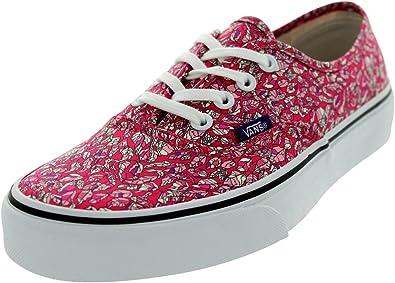 Leaves Pink Skate Shoes US Men's Size