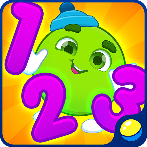 Learning numbers and shapes for toddlers - educational game for early education of your baby in which little kids learn numbers from 1 to 9 and geometric shapes together in English, Spanish (and other languages), training fine motor skills and memory