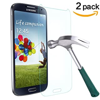 TANTEK Tempered Glass Screen Protector for Samsung Galaxy S4-2 Pack