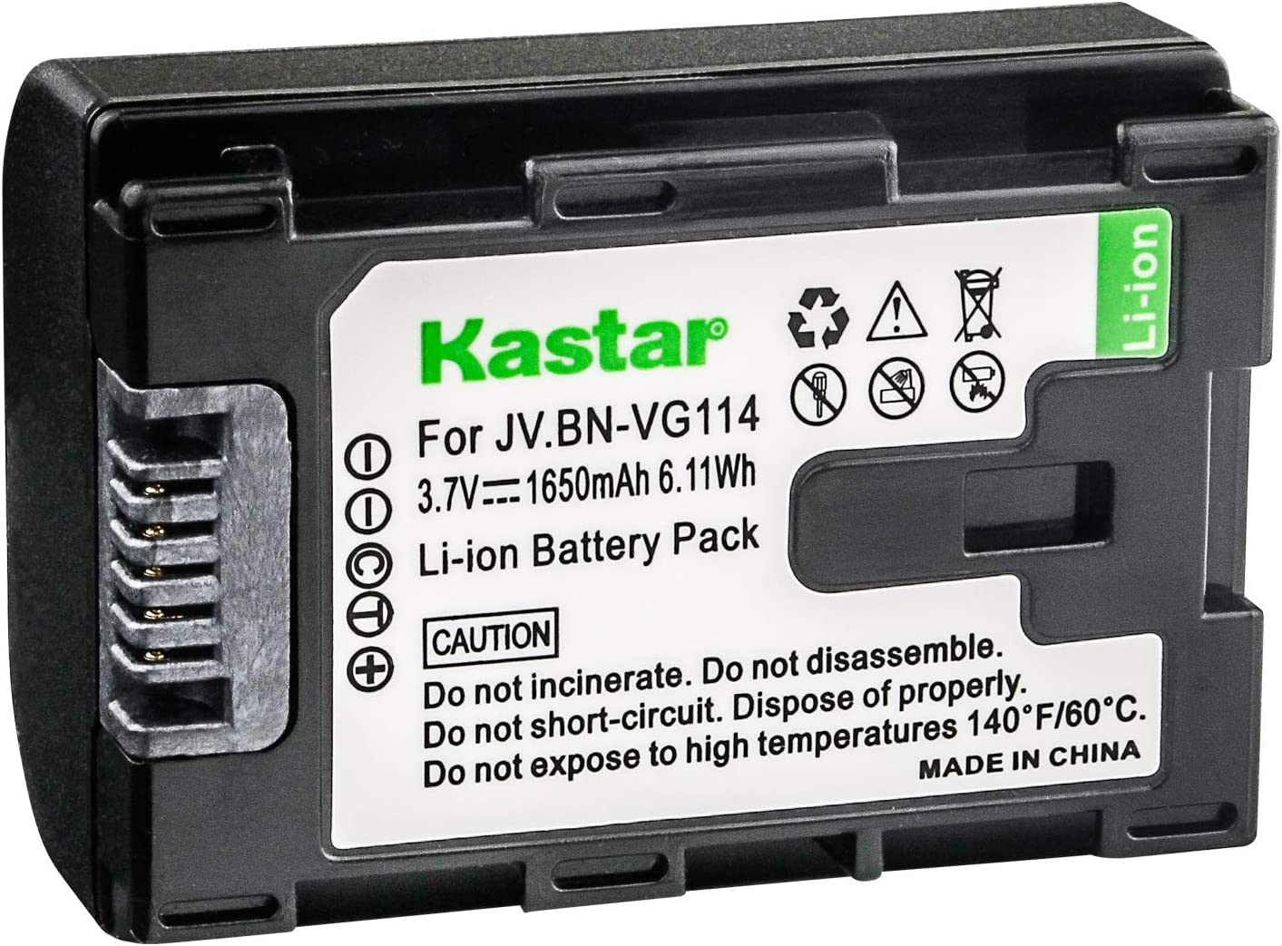 CHARGER KIT FOR JVC BN-VG108USM BN-VG114AC BN-VG114E