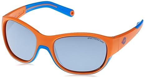 Julbo Luky Lunettes de Soleil Mixte Enfant, Orange Bleu Cyan  Amazon ... 9810e9b2b89e