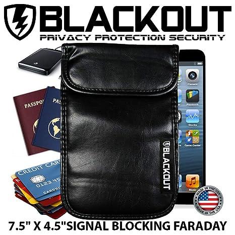 RFID bloqueo privacidad bolsa jaula de Faraday Emp opaco® Bolsas 6 ...