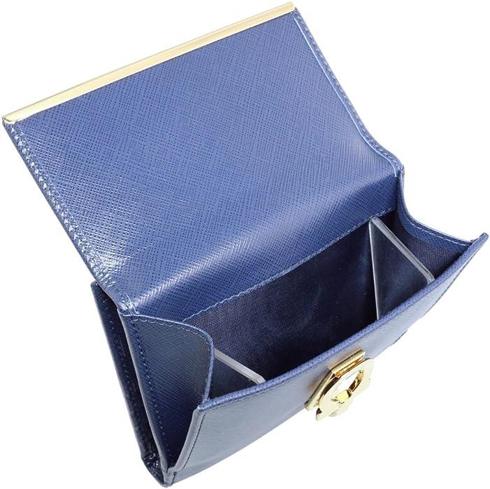 92a156f5e81e フェラガモ 二つ折り財布 レディース ネイビー 224639 561518 OXFORD BLUE [並行輸入品]. 戻る. ダブル ...