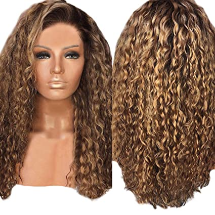 Perruque Blonde Bouclée Nouvelle Perruque