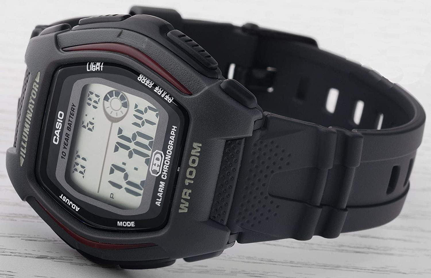 Amazon.com: Casio Collection HDD-600-1AVES Digital watch for men Battery lifetime of 10 years: Watches
