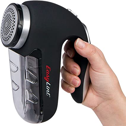 Alwayslux Maquinilla de Afeitar Profesional Easylint - removedor de Pelusas y Pelusas - Use con baterías o Adaptador de Corriente