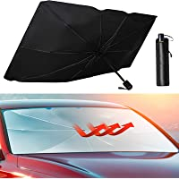 Maxpart Car Front Windshield Umbrella Sunshade Foldable Reflector Shade Block UV Rays and Heat from the Sun Fits Cars…