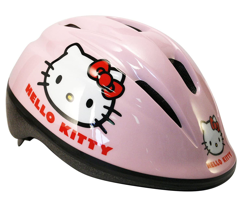 Hello Kitty 802068 Half shell casco para bicicleta - cascos para bicicleta (Fijo, Chica,, Half shell) BABY-WALZ