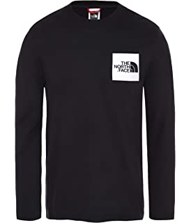 North Face M L/S Fine tee - Camiseta, Hombre: Amazon.es: Deportes ...