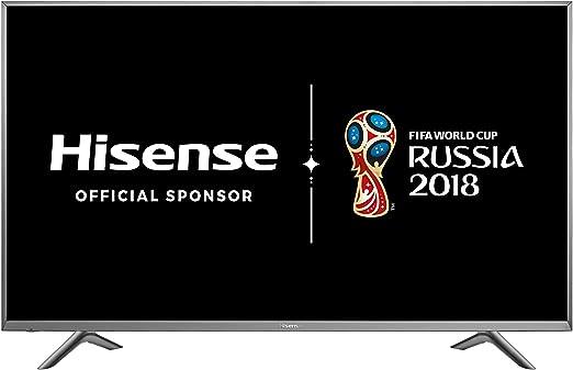 Hisense H45N5755 - Televisor LED Ultra HD de 45 pulgadas, marco y base de metal, plataforma Smart Vidaa U, HDR, Sistema de audio DBX-TV ® y DVB-T2/S2 (HEVC): Amazon.es: Electrónica