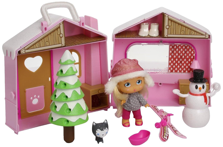 Barriguitas 700011770 - Cabaña de la montaña con muñeco: Amazon.es: Juguetes y juegos