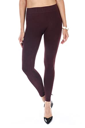 55d6b049958734 NIKIBIKI Premium Vintage Thick Leggings - Super Soft - Capri & Full Length  - Non See