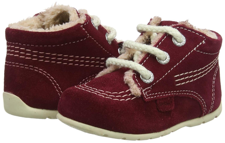 Kickers Unisex Kids Kick Hi B Text B Dk Boots