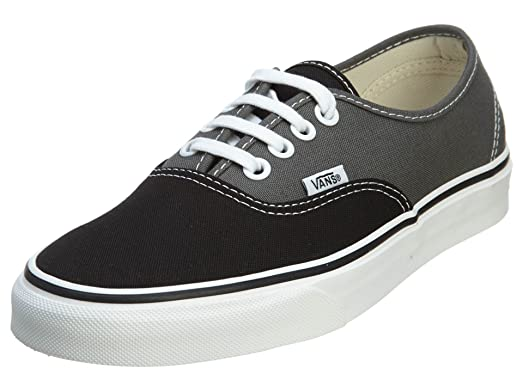 Authentic Sneaker Black/Charcoal 5.5 M US Men / 7 M US Women