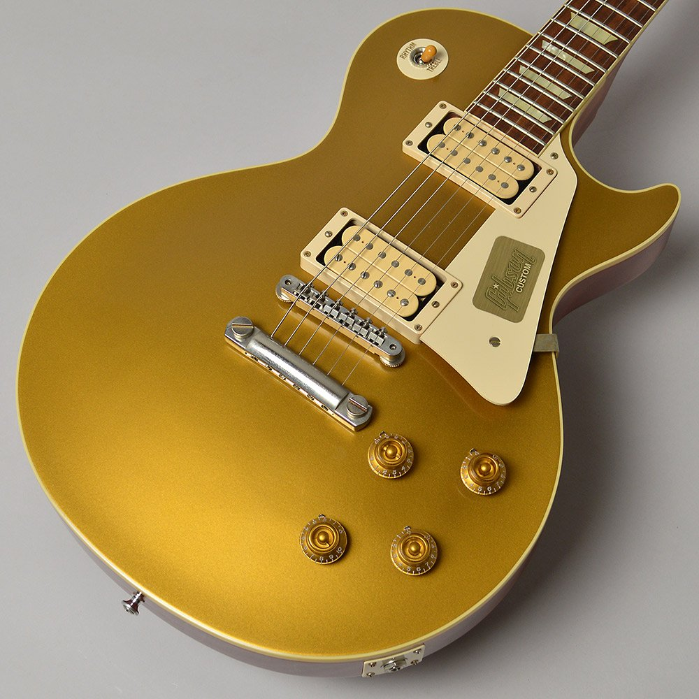 Gibson Custom Shop Standard Historic 1957 Les Paul Gold Top VOS エレキギター レスポール (ギブソン カスタムショップ) B074M5CPHH