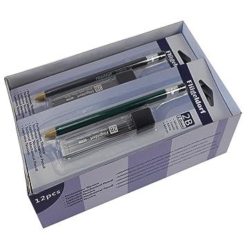 Druckbleistift Fallminenbleistift mit Bleistiftspitzer 2mm Schule Schreibwaren