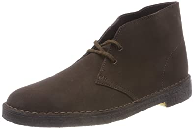 26140ac3ed44 CLARKS Originals Mens Desert Suede Brown Boots 11 US