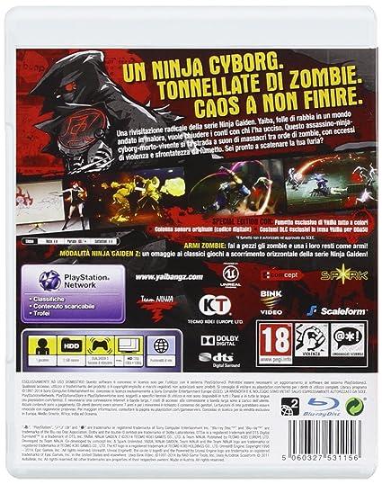 Yaiba: Ninja Gaiden Z Special Edition [Importación Italiana ...