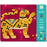DJECO Deep in The Jungle Sticker and Jewel Mosaic Craft Kit