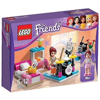 Amazoncom Lego Friends Mias Bedroom Toys Games