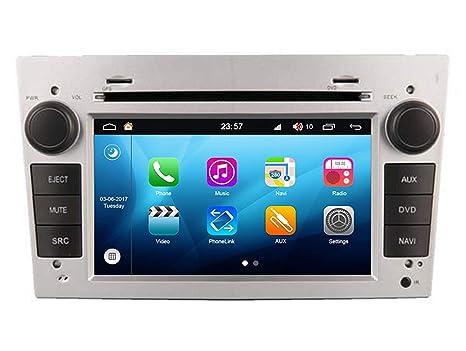 Roverone Android Sistema de doble DIN Autoradio GPS para Opel Zafira Astra H, Antara,