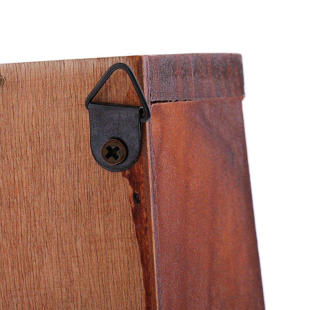 Magideal Porte Courrier Mural Porte Clé Mural Boîte Aux Lettres