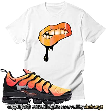 7262b448 Custom T Shirt Matching Nike AIR Vapormax Plus AVP 1-4-16 at Amazon ...