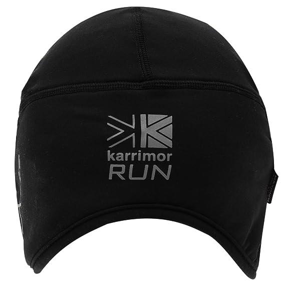 6b3da586322 Karrimor Mens Skull Cap Running Hat Black Mens  Amazon.co.uk  Clothing