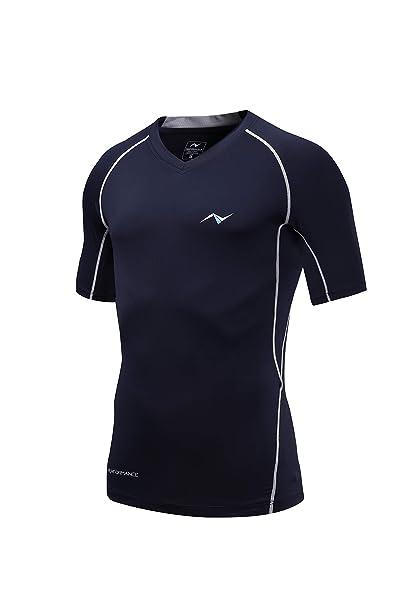 Amazon.com: Nooz - Camiseta de compresión para hombre de 4 ...