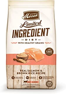 product image for Merrick Limited Ingredient Diet Salmon & Brown Rice Recipe Dry Dog Food, 4 lbs.