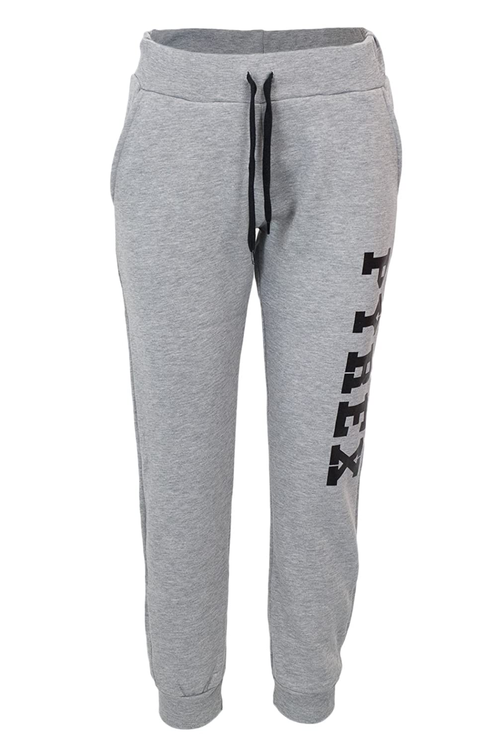 Pyrex Pantalone 34233 Donna Basic in Felpa con Stampa Laterale MainApps