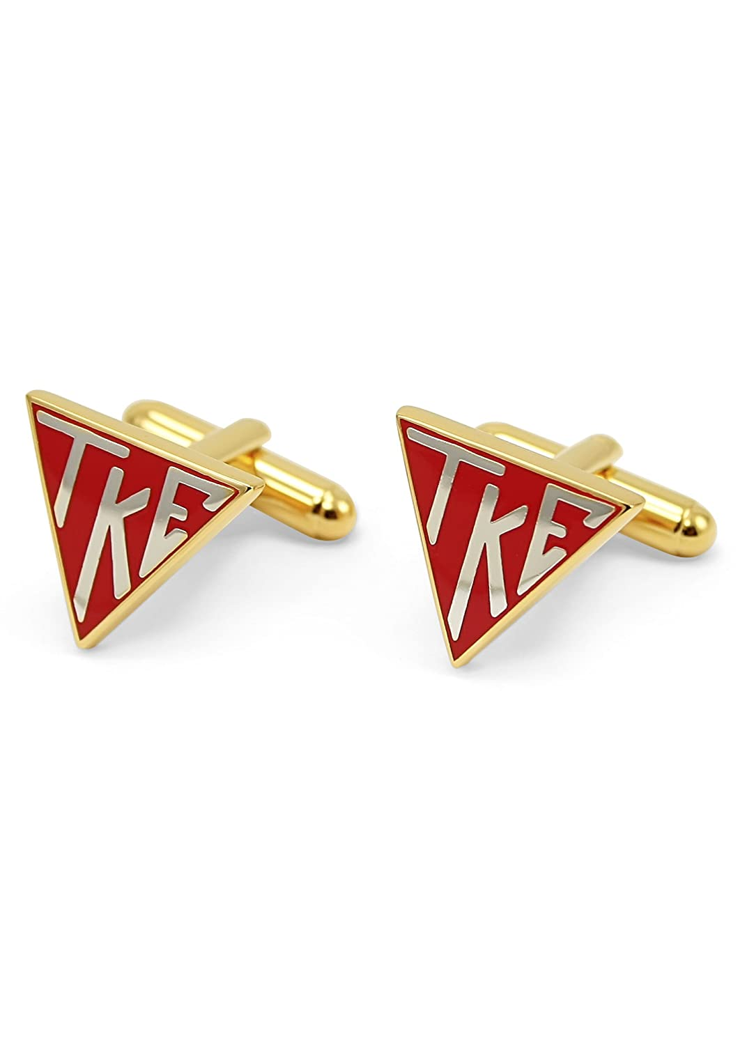 Amazon.com: Tau Kappa Epsilon Triángulo Gemelos (Gold-Plated ...
