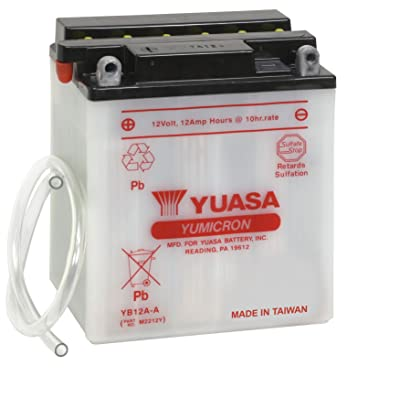 Yuasa YUAM2212Y YB12A-A Battery: Automotive