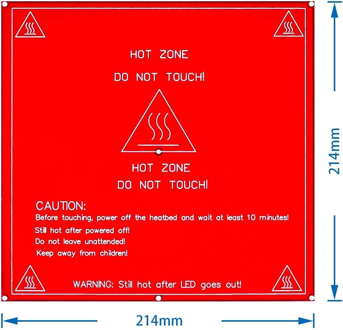 RepRap mendel carte chauffante MK2B chauff/ée///pour imprimante lit chaud Mendel 3D