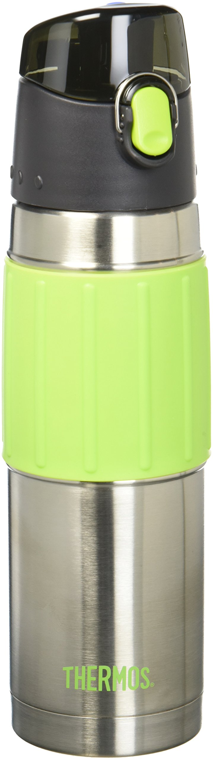 Thermos 18 Ounce Stainless Steel Hydration Bottle, Lime Green