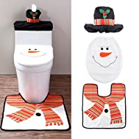 Uten Weihnachten Toilettensitzbezug